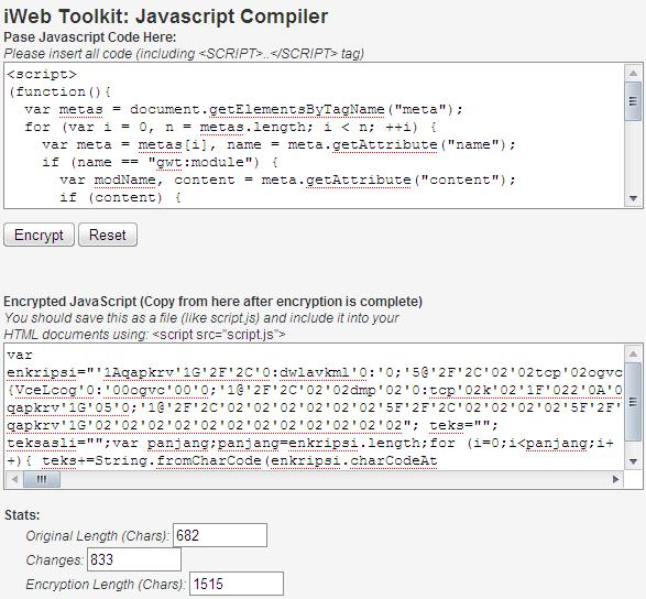 javascriptcompiler